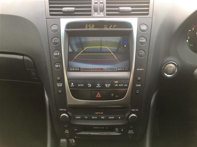 GS350 バージョンI LX-MODEエアロ 本革シート 純正ナビ フルセグTV バックカメラ ETC コーナーセンサー パワーシート クルーズコントロール HIDライト(6枚目)