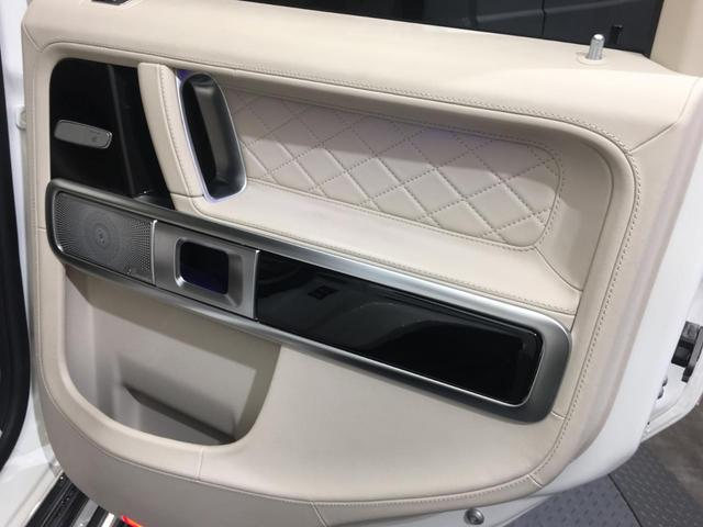 G63 ナイトPKGルック 4本出マフラー 純正22incAW AMGレザーエクスクルーシブPKG iiD製BOX レーダーセーフティPKG後席モニター(22枚目)