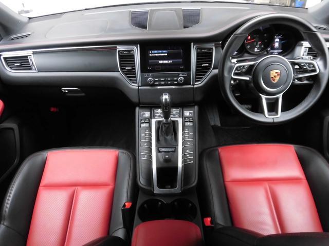 マカン PDK 4WD 赤革 HID ターボAW ナビ Bカメラ Pバックドア スマートキー シートヒーター コーナーセンサー(2枚目)
