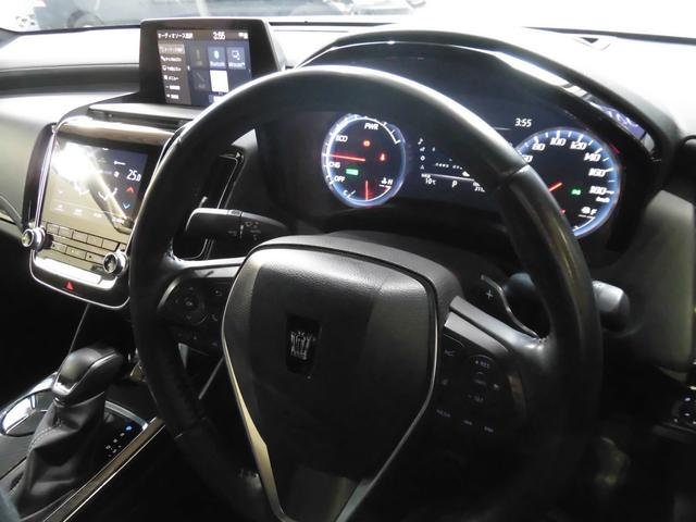 RSアドバンス 新車保証 1オーナー サンルーフ Tom'S 4本出しマフラー OP黒革 LED コーナーセンサー 純正18AW(20枚目)