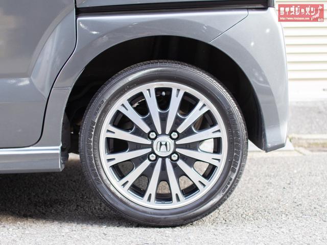 G・ターボパッケージ 1年保証 禁煙車 両側自動 新品タイヤ(13枚目)
