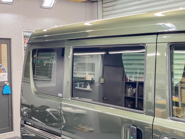 PCリミテッド 5年保証 4ATモデル キーレス プライバシーガラス 同色ミラー 純正CDデッキ ファブリックシート 自社オリジナルLED装着済 スライドドア フルフラット ハイルーフ オーバーヘッドコンソール(13枚目)