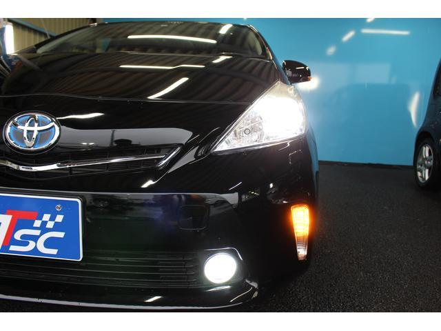 ヘッドライトは明るいLEDライト!夜間の走行がとても安心!フォグライト付きで濃霧時も安心です♪
