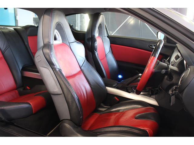 こちらのお車は禁煙車のお車となります!!黒と赤の革シートですので高級感があり目立ちます!!内装にタバコの臭・焦げ跡・動物臭などもなくオススメです!