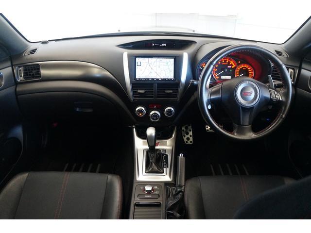 WRX STI Aライン 4WDMTモードSDナビDTVクルーズコントロール電動シートスマートキーBカメラETC禁煙(9枚目)