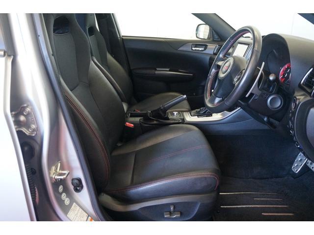 WRX STI Aライン 4WDMTモードSDナビDTVクルーズコントロール電動シートスマートキーBカメラETC禁煙(14枚目)