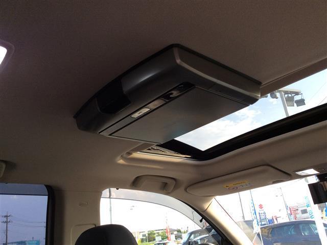Gプレミアムパッケージ 電気温水式ヒーター メーカーナビ ロックフォード フルセグTV Bluetooth マルチアラウンドモニター フリップダウンモニター 黒革シート サンルーフ RAYSホムラ20インチAW(26枚目)