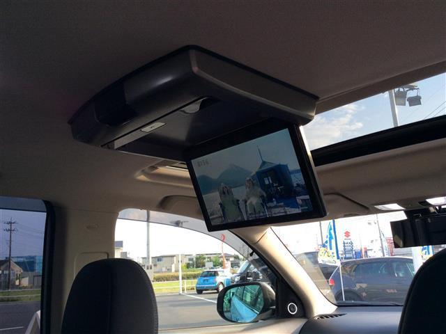 Gプレミアムパッケージ 電気温水式ヒーター メーカーナビ ロックフォード フルセグTV Bluetooth マルチアラウンドモニター フリップダウンモニター 黒革シート サンルーフ RAYSホムラ20インチAW(27枚目)