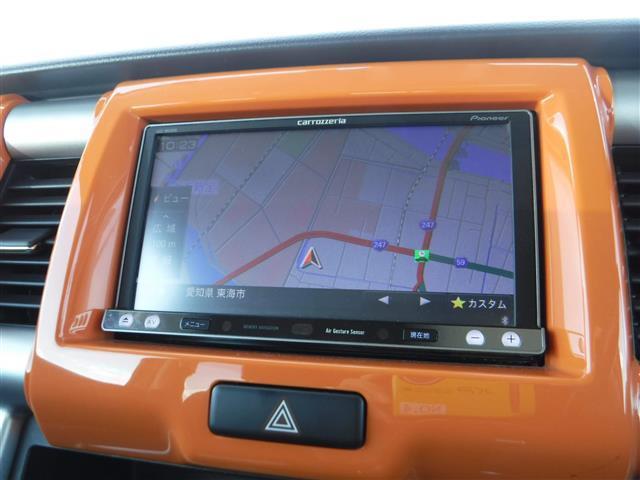 X ターボ 4WD ワンオーナー 社外ナビ シートヒーター(2枚目)