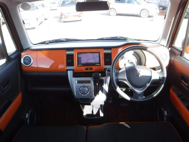 X ターボ 4WD ワンオーナー 社外ナビ シートヒーター(3枚目)