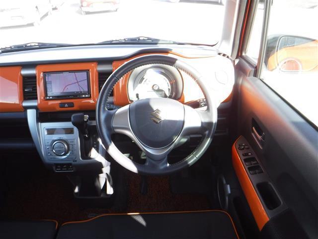 X ターボ 4WD ワンオーナー 社外ナビ シートヒーター(9枚目)