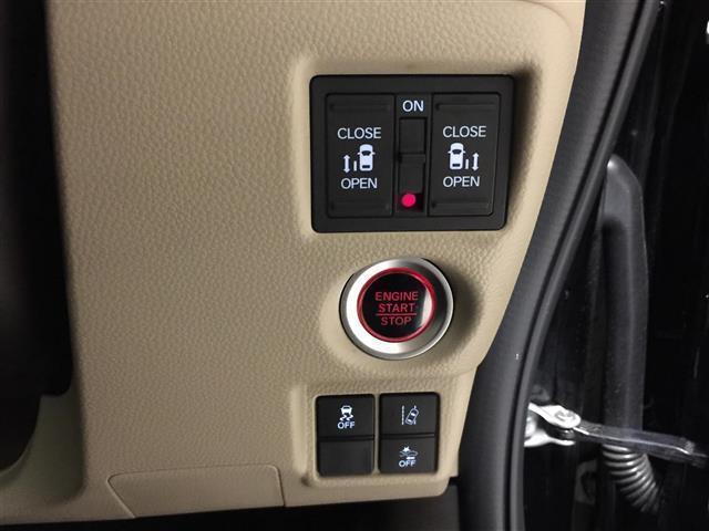 G・Lターボホンダセンシング 衝突軽減ブレーキ 社外ナビ フルセグTV バックカメラ ETC 両側パワースライドドア レーンキープアシスト クルーズコントロール オートライト プッシュスタート スマートキー(26枚目)