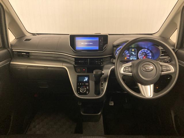 カスタム X SAII 1オーナー 衝突軽減B 社外ナビ フルセグTV バックカメラ ステアリモコン 運転席シートヒーター ドライブレコーダー アイドリングストップ 横滑り防止装置 ドアバイザー フロアマット(2枚目)