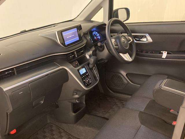 カスタム X SAII 1オーナー 衝突軽減B 社外ナビ フルセグTV バックカメラ ステアリモコン 運転席シートヒーター ドライブレコーダー アイドリングストップ 横滑り防止装置 ドアバイザー フロアマット(16枚目)