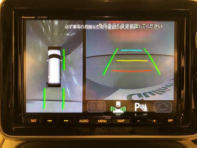 ハイブリッドX 衝突軽減B レーンキープアシスト 純正ナビ CD DVD フルセグTV 全方位C ドラレコ 純正1AW 両側パワースライドドア 右前席シートヒーター LEDヘッドライト オートライト コーナーセンサー(3枚目)