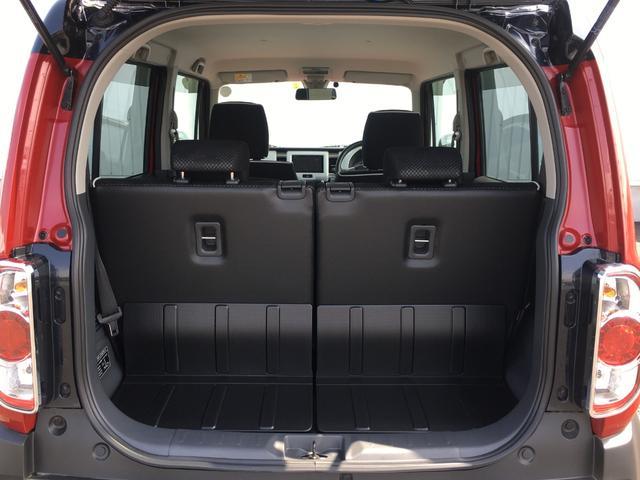 トランクスペースはコンパクトカーの中でも充分な広さを兼ね備えています。
