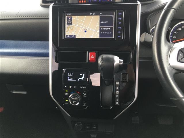 カスタムG S 純正SDナビ/AM/FM/CD/DVD/BT/SD/フルセグTV/T-コネクト対応/バックカメラ/衝突警報機能/衝突回避支援ブレーキ機能/誤発抑制機能(18枚目)