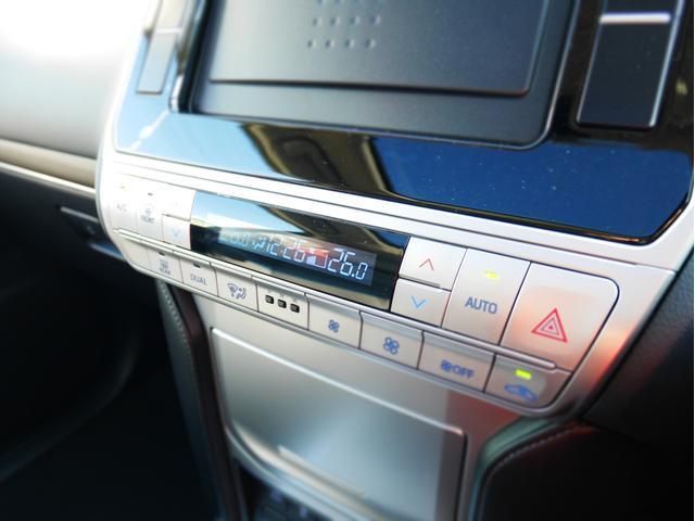 【 左右独立温度コントロール式フルオートエアコン 】運転席、助手席それぞれでの温度調整が可能です!