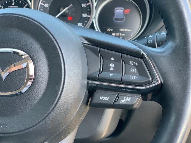 【 レーダークルーズコントロール 】高速道路で便利なクルーズコントロールも装着済み。アクセルを離しても一定速度で走行ができる装備です。加速減速もスイッチ操作でOKです。