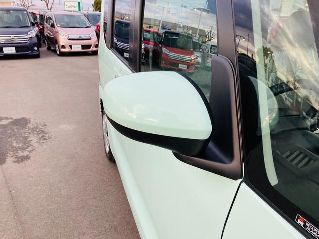 L 届出済み未使用車/衝突軽減ブレーキ/横滑り防止装置/アイドリングストップ/パーキングソナー/ヘッドライトレベライザー/マニュアルエアコン/LEDヘッドライト/電動格納ミラー/キーレスキー(18枚目)