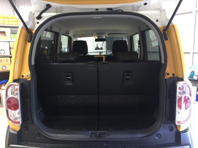 【トランク】荷物を積み込むのに十分なスペースが確保されております。