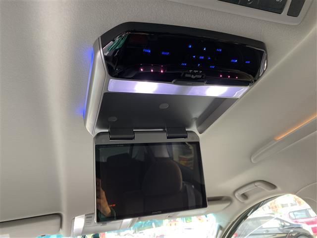 350S プライムセレクション 社外HDDナビ 後席モニター(3枚目)