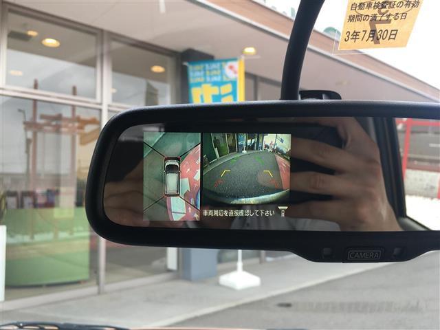 X 純正メモリナビ フルセグTV アラウンドビューモニター Bluetooth接続 プッシュスタート スマートキー 純正フロアマット 純正ドアバイザー ライトレベライザー 電格ミラー(6枚目)