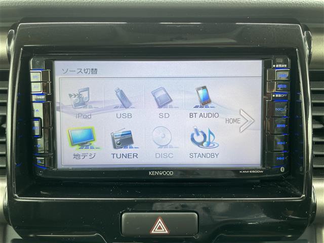 JスタイルII スマートキー プッシュスタート 純正メモリナビ CD DVD SD FM AM BT ステアリングスイッチ 前席シートヒーター アイドリングストップ ウインカーミラー(4枚目)