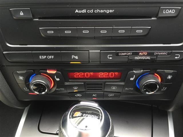 3.2FSIクワトロ 純正ナビ AM FM CD ETC コーナーセンサー プッシュスタート スマートキー スペアキー レザーシート メモリーシート シートヒーター クルーズコントロール MTモード付AT(8枚目)