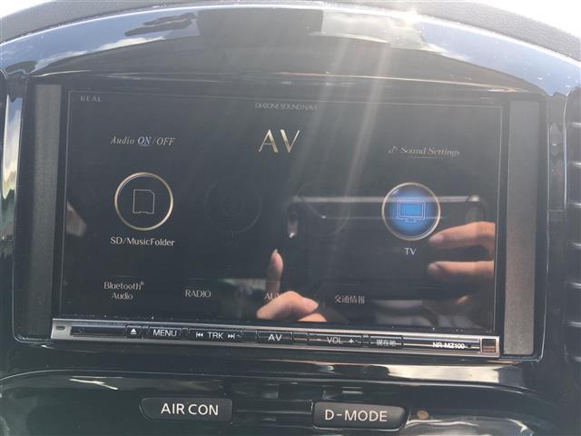15RX Vセレクション ワンオーナー 衝突軽減ブレーキ 社外ナビ フルセグテレビ Bluetooth バックカメラ ドライブレコーダー HIDヘッドライト レーンキープ プッシュスタード 純正アルミホイール(4枚目)