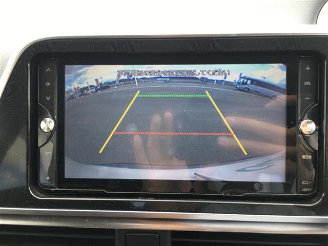 G 両側パワースライドドア 社外ナビ フルセグテレビ Bluetooth バックカメラ アイドリングストップ 革ステアリング ETC 三列シート アルミホイール 横滑り防止(5枚目)