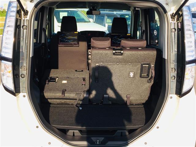 X S 衝突軽減ブレーキ 社外ナビ フルセグテレビ Bluetooth バックカメラ 後席用モニター コーナーセンサー LEDヘッドライト オートライト サンシェード スマートキー アイドリングストップ(15枚目)