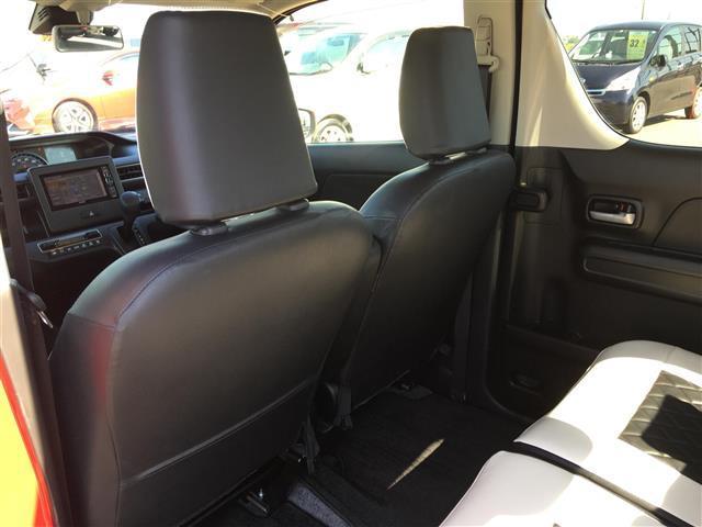 ハイブリッドXS アルパインナビ フルセグテレビ Bluetooth バックカメラ 衝突軽減ブレーキ シートヒーター 革調シートカバー オートライト ステアリングスイッチ アイドリングストップ 純正14インチアルミ(15枚目)