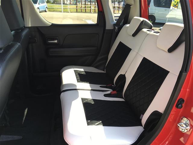 ハイブリッドXS アルパインナビ フルセグテレビ Bluetooth バックカメラ 衝突軽減ブレーキ シートヒーター 革調シートカバー オートライト ステアリングスイッチ アイドリングストップ 純正14インチアルミ(16枚目)