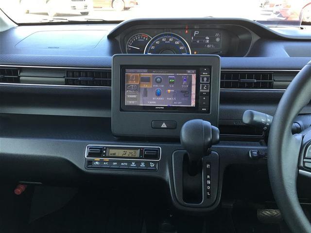 ハイブリッドXS アルパインナビ フルセグテレビ Bluetooth バックカメラ 衝突軽減ブレーキ シートヒーター 革調シートカバー オートライト ステアリングスイッチ アイドリングストップ 純正14インチアルミ(27枚目)