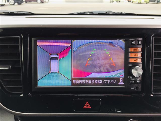 ハイウェイスター X 純正ナビ フルセグテレビ Bluetooth 全方位カメラ パワースライドドア スマートキー 純正14インチアルミホイール HIDヘッドライト フォグライト サンシェード 革巻きステアリング(15枚目)