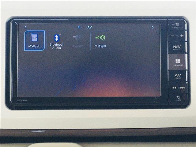 Gメイクアップ SAII 衝突被害軽減システム/両側パワースライドドア/純正7インチナビ/Bluetooth接続/フルセグTV/DVD再生可能/バックカメラ/スマートキー/プッシュスタートボタン/LEDヘッドライト(4枚目)