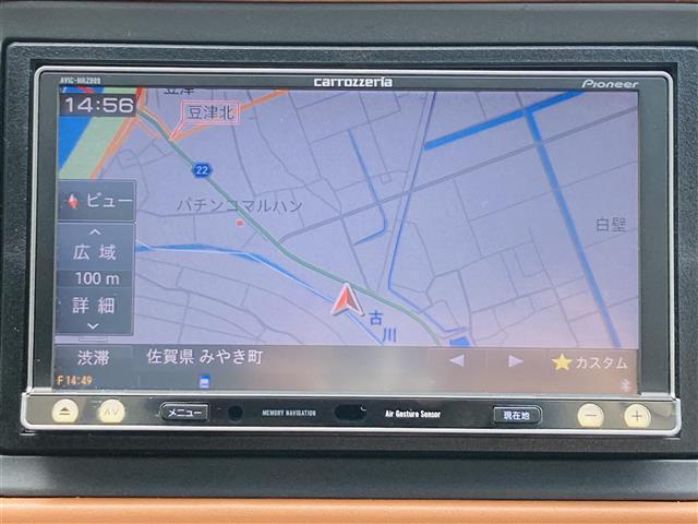ハイブリッドZ あんしんパッケージ 社外7インチナビ フルセグテレビ DVD Bluetooth バックカメラ クルーズコントロール パドルシフト ハーフレザーシート シートヒーター 純正17インチアルミ LED(9枚目)