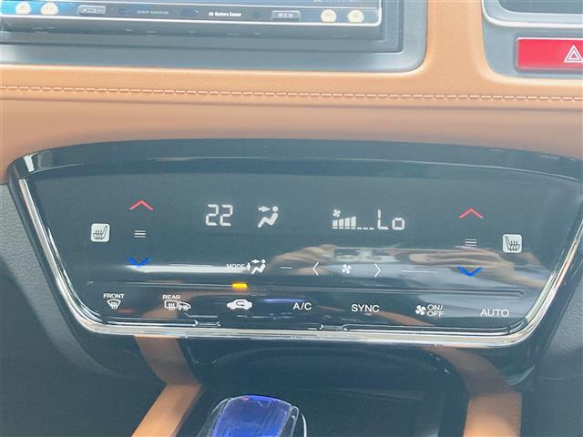 ハイブリッドZ あんしんパッケージ 社外7インチナビ フルセグテレビ DVD Bluetooth バックカメラ クルーズコントロール パドルシフト ハーフレザーシート シートヒーター 純正17インチアルミ LED(12枚目)