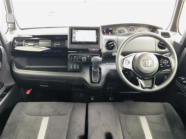 L 純正7インチナビ フルセグテレビ/DVD/Bluetooth バックカメラ 衝突軽減ブレーキ アダプティブクルースコントロール 先行車発進お知らせ 標識認識機能 片側パワースライド シートヒーター(4枚目)