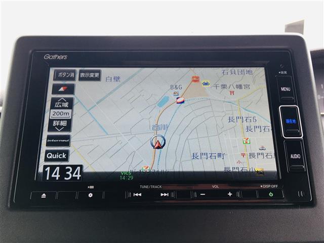 L 純正7インチナビ フルセグテレビ/DVD/Bluetooth バックカメラ 衝突軽減ブレーキ アダプティブクルースコントロール 先行車発進お知らせ 標識認識機能 片側パワースライド シートヒーター(6枚目)