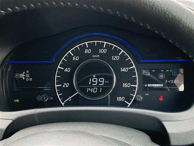 e-パワー X 1オーナー エマージェンシーブレーキ 純正CDオーディオAUX付き レザー調シートカバー 革巻きステアリンング プッシュエンジンスタート ドライブレコーダー スマートキー オートライト ETC(12枚目)