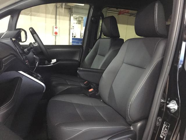 Gi 登録済み未使用車 トヨタセーフティセンス クリアランスソナー パーキングサポートブレーキ レーンディパーチャーアラート レザーシート シートヒーター 両側電動スライドドア LEDヘッドライト(63枚目)