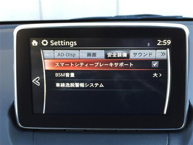 【スマートシティブレーキサポート/BSM/車線逸脱警報システム】