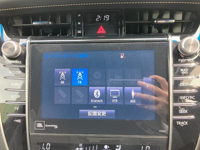 プレミアム アドバンスドパッケージ JBLプレミアムサウンドシステム メーカーナビ パノラミックビューモニター プリクラッシュセーフティシステム レーンディパーチャーアラート インテリジェントクリアランスソナー パワーバックドア ETC(77枚目)