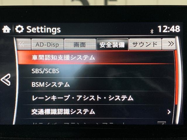 XD Lパッケージ BOSEサウンドシステム マツダコネクトナビ バックカメラ ホワイトレザーシート パワーシート シートヒーター ステアリングヒーター 衝突軽減ブレーキ BSMシステム レーンキープアシスト ETC(67枚目)