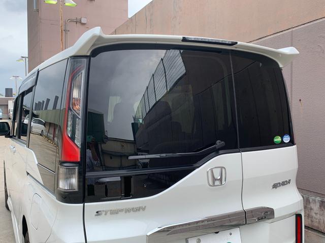 スパーダ ホンダセンシング 衝突軽減ブレーキ 路外逸脱抑制システム レーンキープアシストシステム 標識認識機能 社外ナビ バックカメラ 両側パワースライドドア ビルトインETC フルセグTV視聴可能 Bluetooth対応(43枚目)