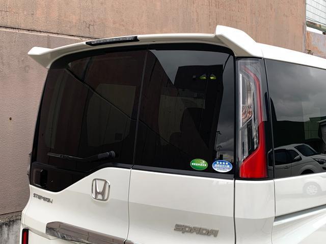 スパーダ ホンダセンシング 衝突軽減ブレーキ 路外逸脱抑制システム レーンキープアシストシステム 標識認識機能 社外ナビ バックカメラ 両側パワースライドドア ビルトインETC フルセグTV視聴可能 Bluetooth対応(56枚目)