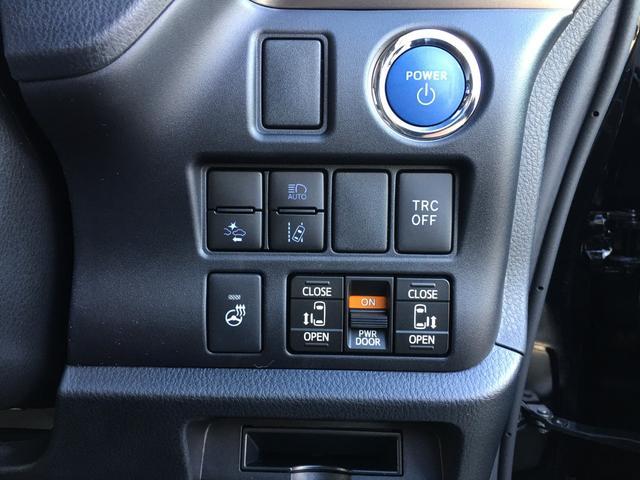 ハイブリッドGiプレミアムパッケジブラックテーラード 登録済み未使用車 トヨタセーフティセンス 衝突軽減ブレーキ レーンキープ ハーフレザーシート シートヒーター ステアリングヒーター コーナーセンサー 両側電動スライドドア LEDヘッドライト(12枚目)