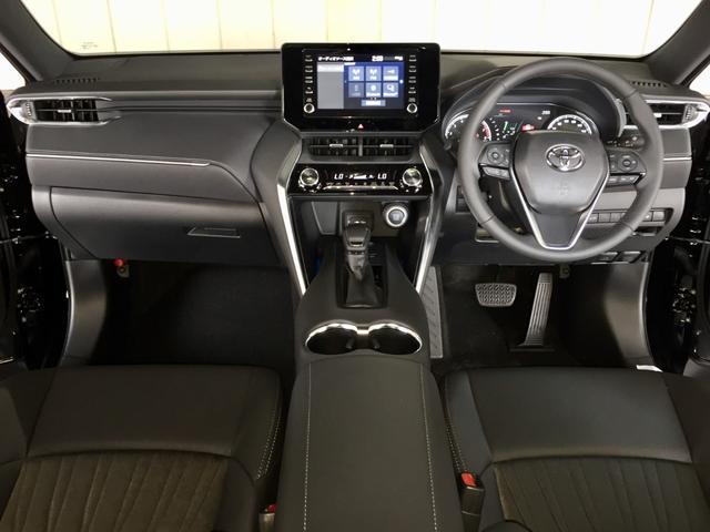 G 登録済み未使用車 8型ディスプレイオーディオ バックカメラ デジタルインナーミラー リヤクロストラフィックオートブレーキ BSM エンブレム付ドアミラー足元照明 セーフティセンス 衝突軽減 LED(2枚目)